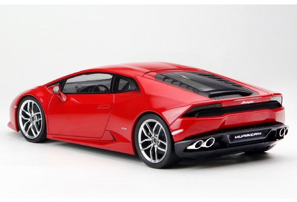 โมเดลรถ โมเดลรถเหล็ก โมเดลรถยนต์ Lamborghini Huracan red 3