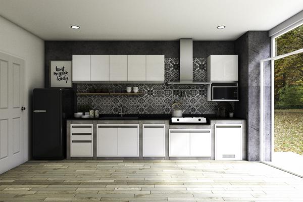 เนรมิตครัวสวย ดุจพื้นที่แห่งความสุข ด้วยหน้าบานมีสไตล์เพื่อชุดครัวปูน