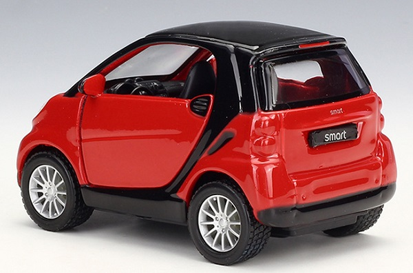 โมเดลรถเหล็ก โมเดลรถยนต์ Benz Smart 2 3