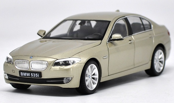 โมเดลรถ โมเดลรถยนต์ โมเดลรถเหล็ก bmw 535i gold 1