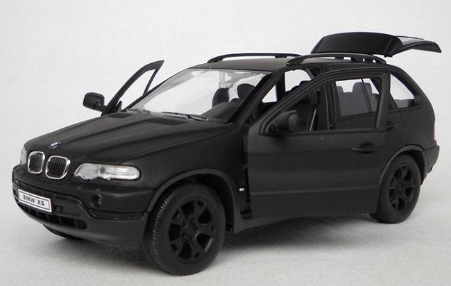 โมเดลรถ โมเดลรถเหล็ก โมเดลรถยนต์ BMW X5 matte black 4