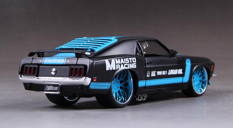 โมเดลรถ รถเหล็ก โมเดลรถเหล็ก โมเดลรถยนต์ Ford Mustang 1967 4