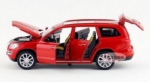 โมเดลรถเหล็ก โมเดลรถยนต์ Benz GL500 6