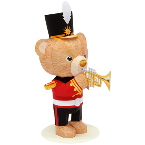 Mini Teddy Bear (Trumpet)