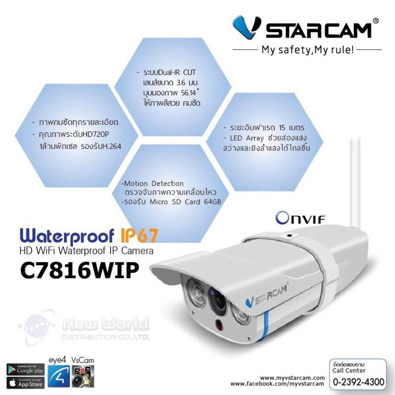 กล้องวงจรปิดVstarcam