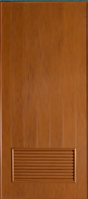 ประตูพีวีซี CHAMP P2 ลายไม้ 80x200