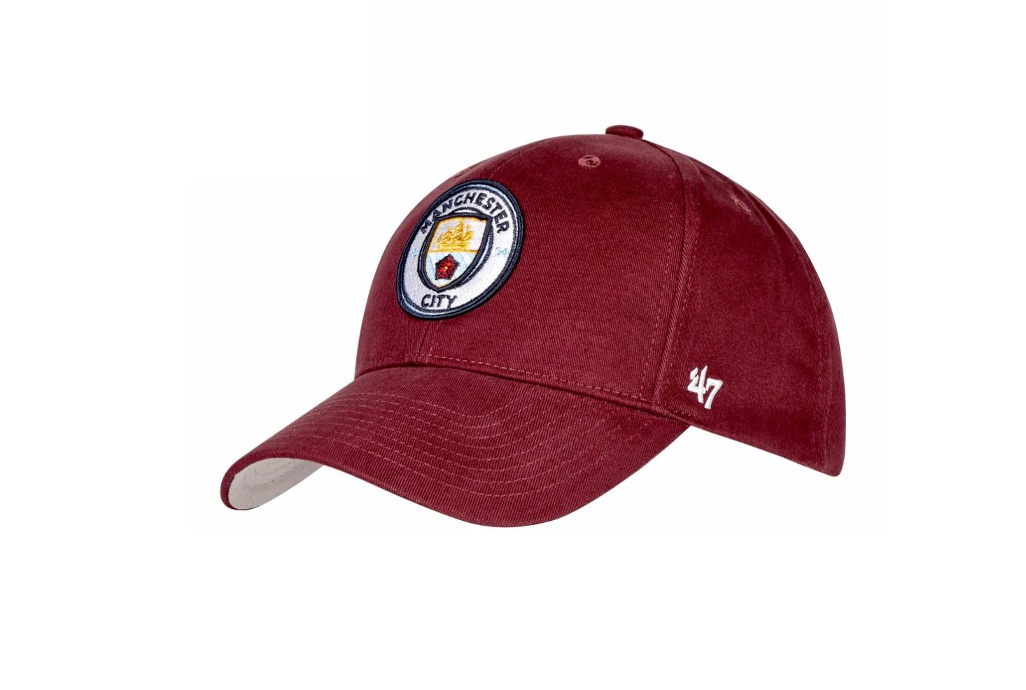 หมวกแมนเชสเตอร์ ซิตี้ 47 MVP Cap Maroon ของแท้