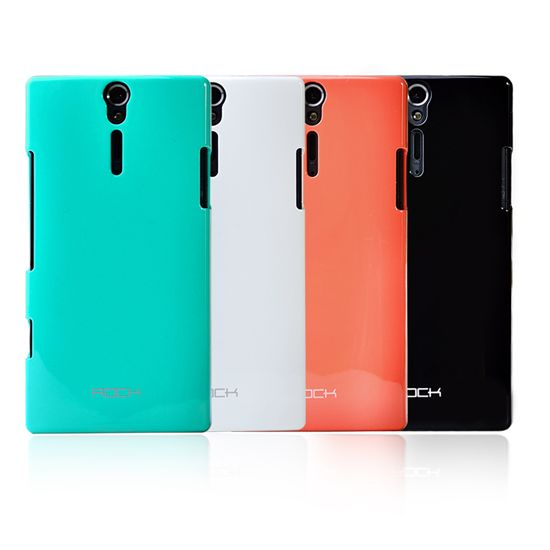 Case ROCK nakedshell Naked Color-ful series for Sony Xperia S