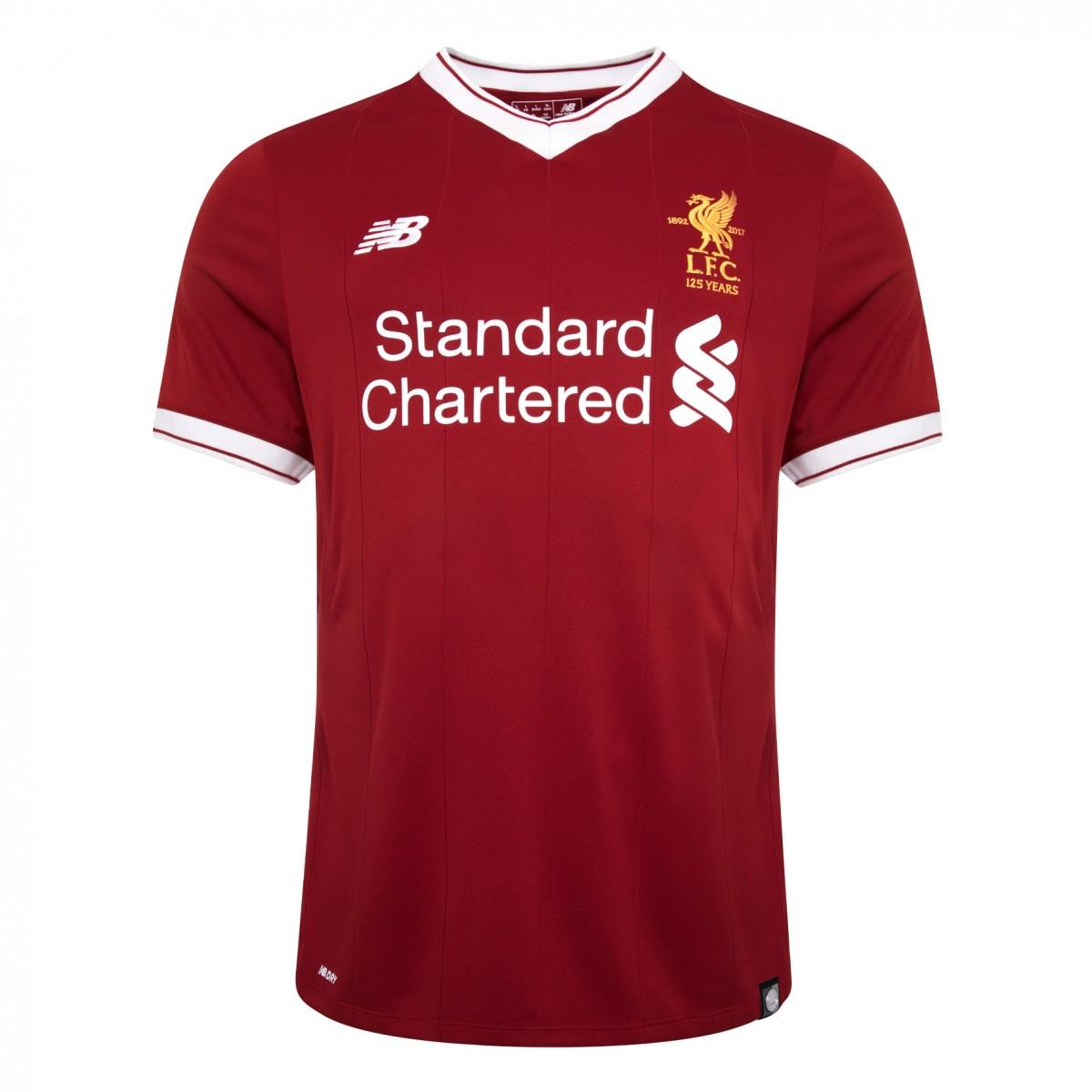 เสื้อลิเวอร์พูลทีมเหย้า 2017-2018 ออเธนติกอีไลน์เวอร์ชั่นนักเตะของแท้ Liverpool Mens Elite Home Shirt 2017 2018