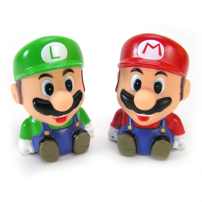 กระปุกออมสิน มาริโอ-หลุยส์ (super mario bros)