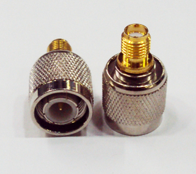 หัวแปลง ขั้วต่อแบบ TNC (Linksys) เป็นแบบ RP-SMA(RP-SMA แบบไม่มีเข็ม)