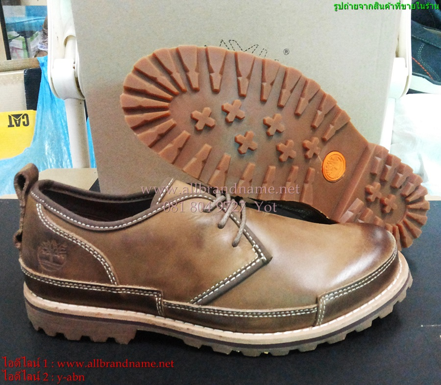 รองเท้าหนังTimberland งานมิลเลอร์ หนังแท้100% ไซส์ 39-45