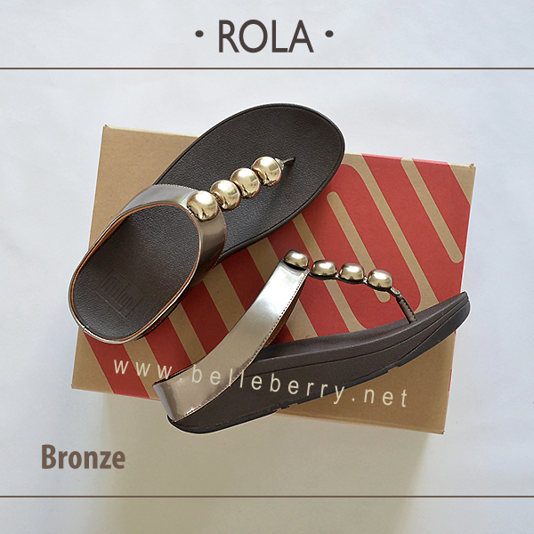 ** NEW ** FitFlop : ROLA : Bronze : Size US 6 / EU 37
