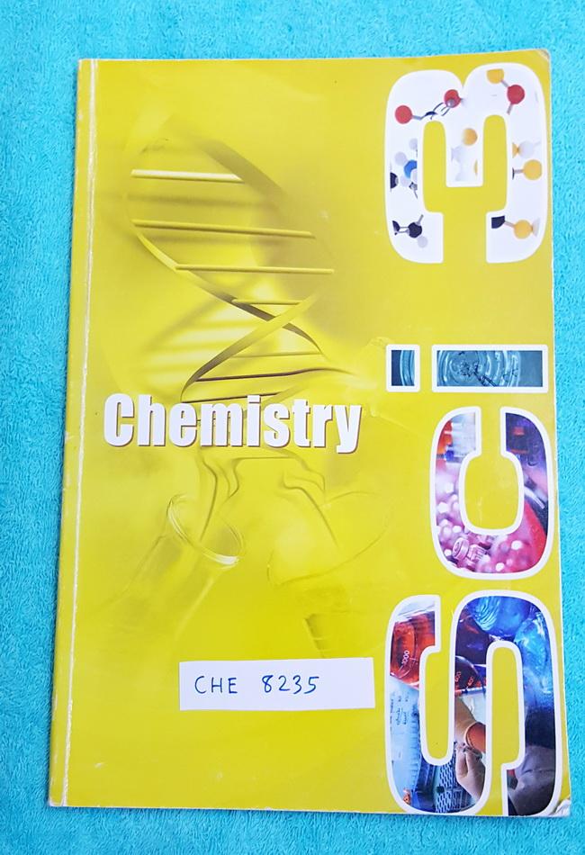 ►อ.บิ๊ก◄ BIG 8235 เคมี ม.ต้น SCI 3 จดครบเกือบทั้งเล่ม มีจดเนื้อหาแทรกเพิ่มเติม จดปากกาสีและดินสอ ด้านหลังมีเฉลย เล่มใหญ่ *มีหลายหน้าที่เด็กเขียนรูปกากบาทเล่น