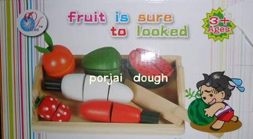 หั่นผักผลไม้ แบบถาด