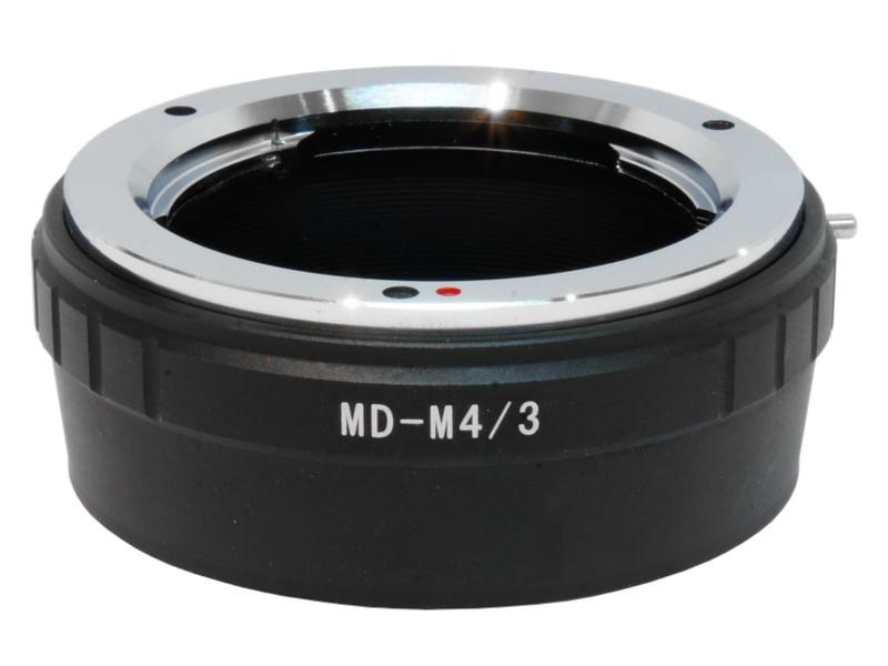 MD-M4/3 Mount Adapter Minolta MD MC Lens to MFT M4/3 Micro 4/3 Camera