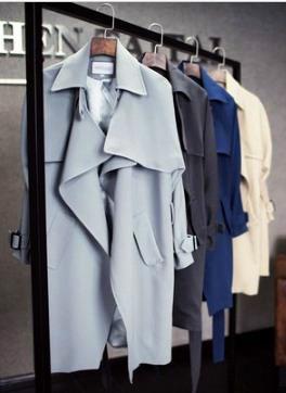 เสื้อโค้ทสไตล์เกาหลี