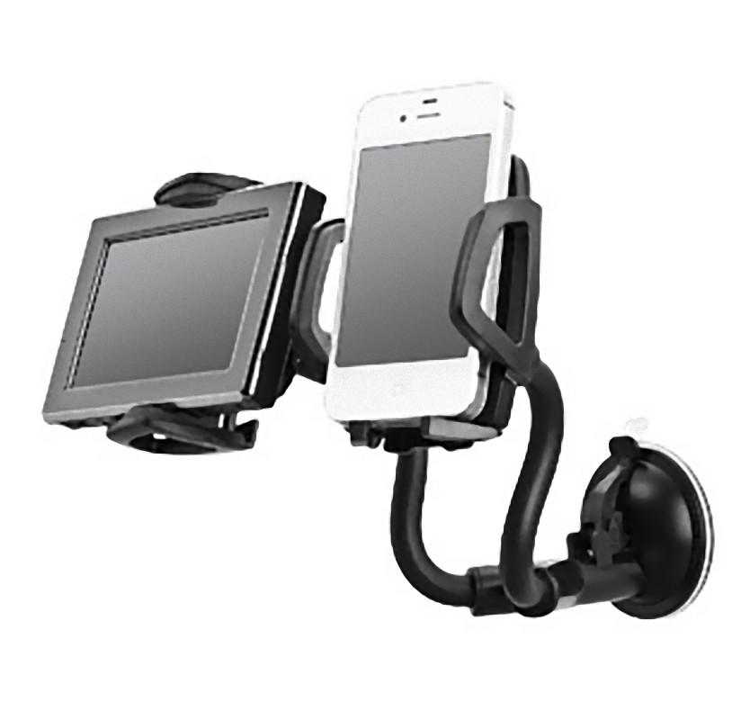 ที่วางมือถือในรถ car holder for iphone smartphones วางได้2เครื่อง
