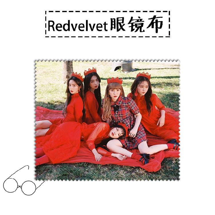 ผ้าเช็ดแว่น Red Velvet Peek-A-Boo