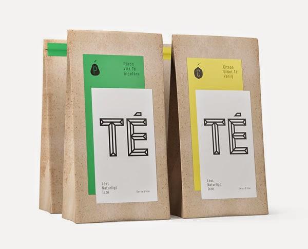 ไอเดียสำหรับการพิมพ์ สติ๊กเกอร์ฉลากสินค้า // สไตล์การออกแบบ ดีไซน์แบบเรียบ แต่มีสไตล์ ฉลากไว้ใช้สำหรับ แปะกับถุงกระดาษ