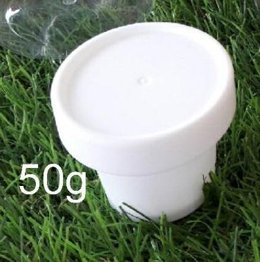 กระปุกไอติมทรงสูง 50ml 25บาท/ชิ้น
