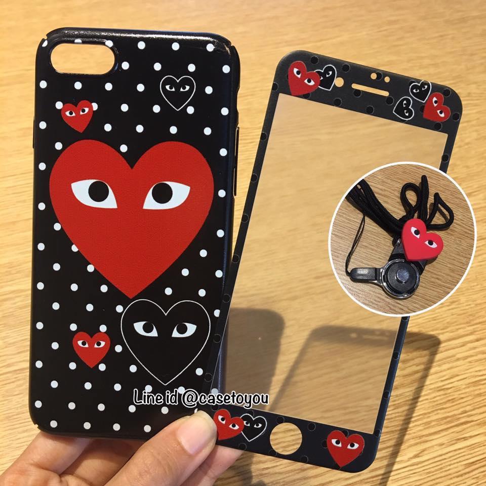 เคส 3 in 1 Comme (ดำ) iPhone 6/6S