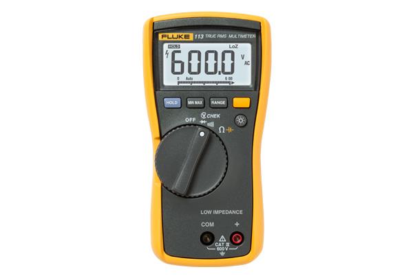 ดิจิตอล มัลติมิเตอร์ True RMS (Digital Multimeter) ราคากันเอง รุ่น Fluke 113 วัดแรงดัน กระแส ไดโอดและความต้านทาน