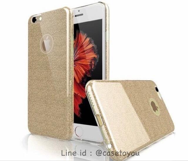 เคส Luxury Glitter Gold iPhone 5/5S/SE