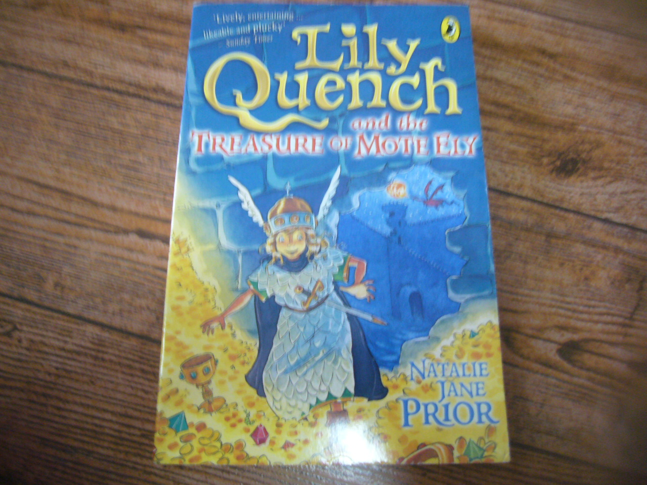 Lily Quench and the Treasure of Monte Ely