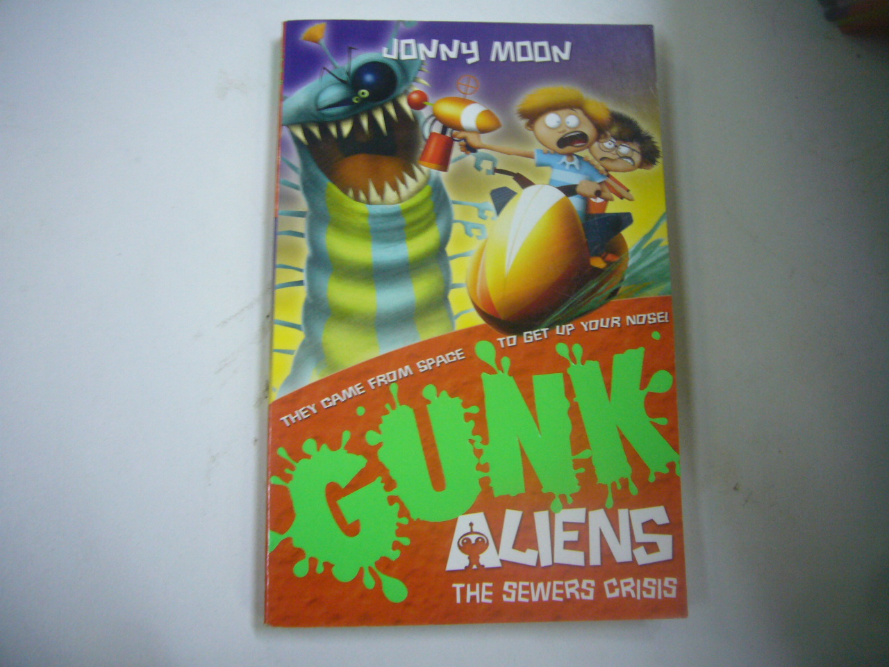 Gunk Aliens 4: The Sewers Crisis