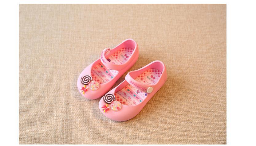 รองเท้าเด็ก สีชมพู