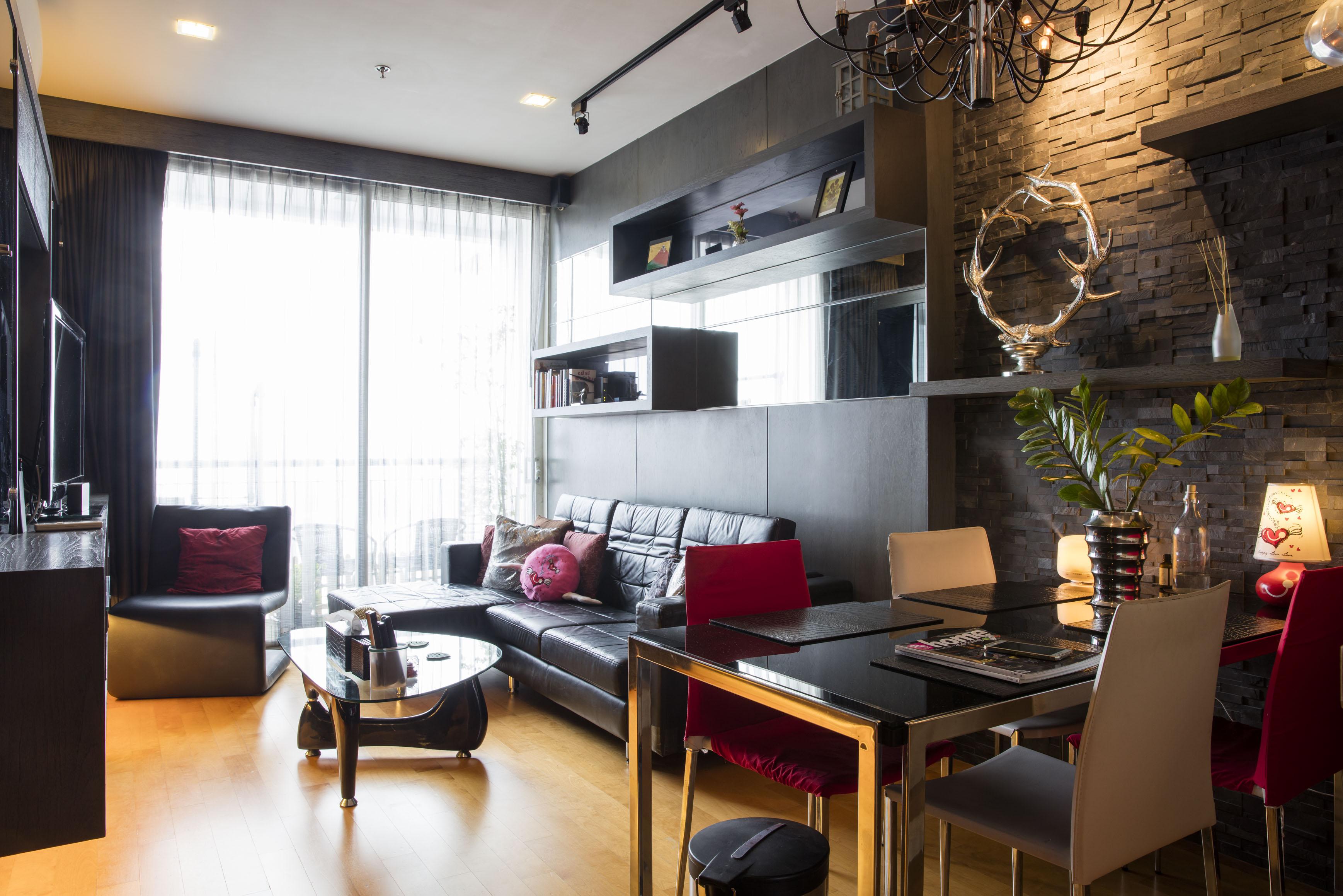 ให้เช่า Villa Rachatewi 1ห้องนอน ชั้นสูง