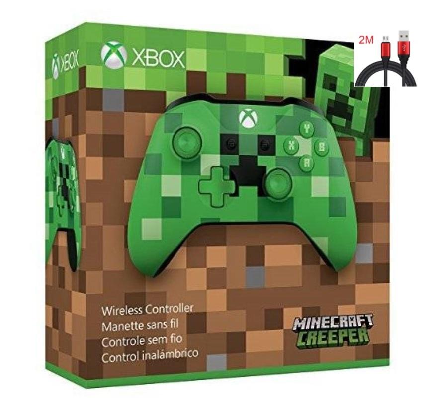 Xbox One S - Minecraft Creeper (Gen 3)(Wireless & Bluetooth) (Warranty 3 Month)