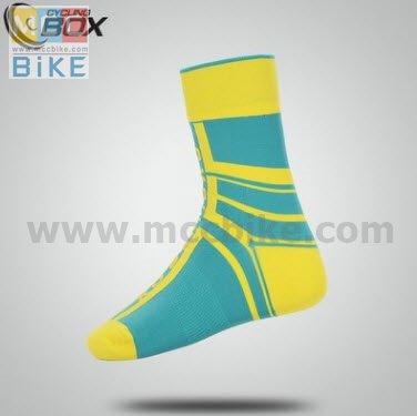 ถุงเท้าจักรยาน ถุงเท้าปั่นจักรยาน แบบยาว CYCLING BOX L2
