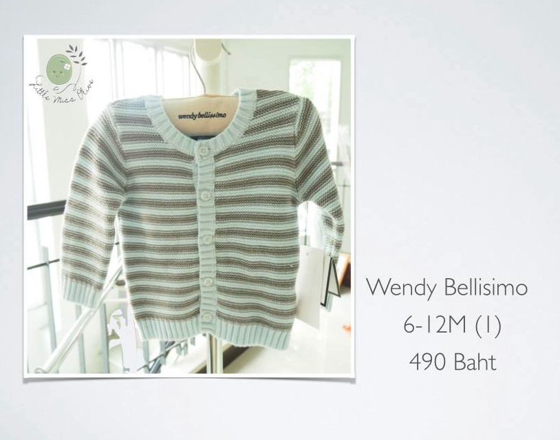 wendy bellissimo size 6M