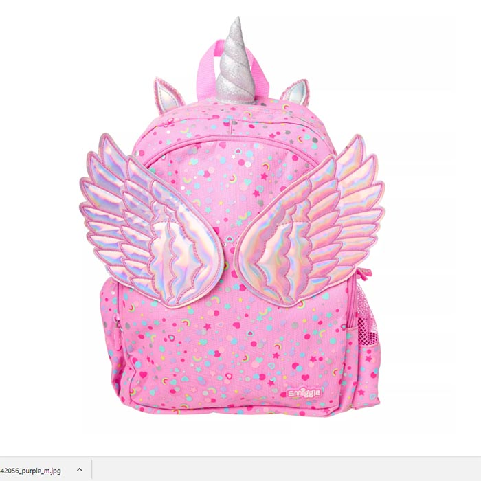 SMB034 เป้ smiggle Fly Away Junior Backpack