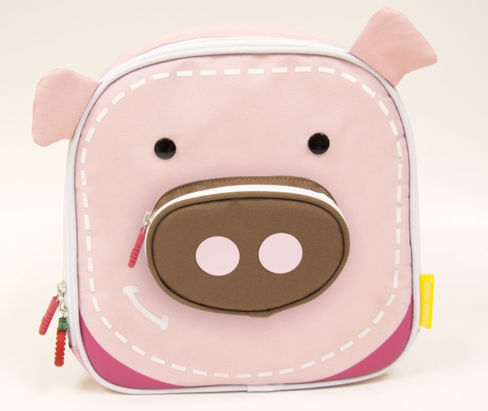 INSULATED LUNCH BAG ( pig )