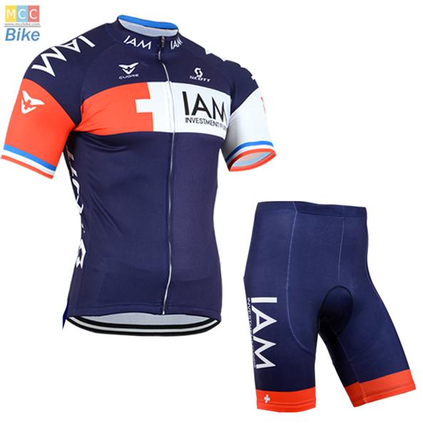 ชุดปั่นจักรยาน แบบชุดทีมแข่ง ทีม IAM ขนาด XL พร้อมส่งทันที ฟรี EMS