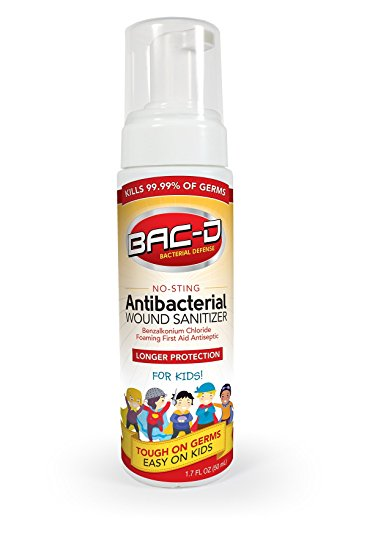 Bac-D Antibactirail Wound Sanitizer