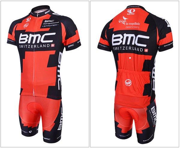 ชุดปั่นจักรยาน แบบชุดทีมแข่ง ทีม BMC ขนาด L พร้อมส่งทันที รวม EMS
