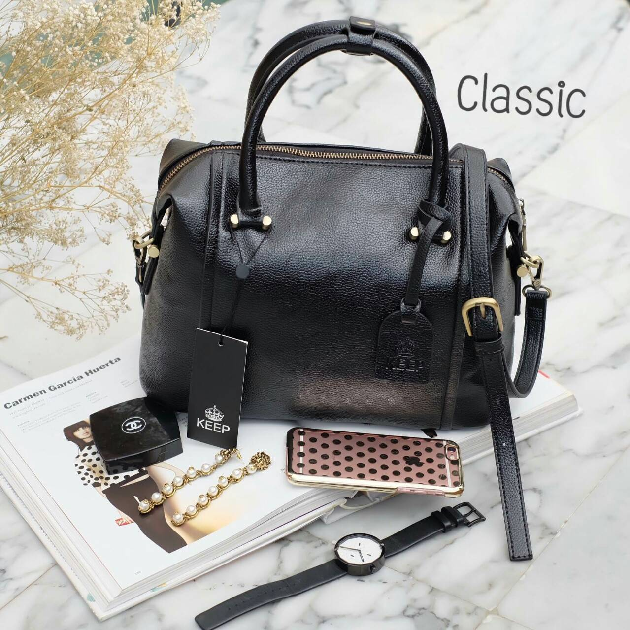 กระเป๋า KEEP Classic Tender Pillow Bag