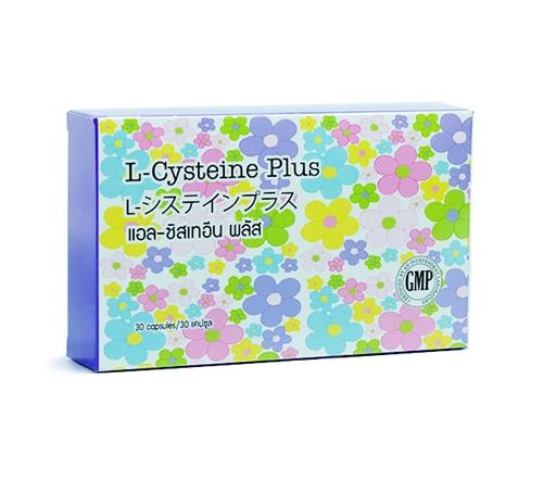 L-Cysteine Plus (1 กล่อง) สุดยอดอาหารเสริมผิวขาวกระจ่างใส ด้วยสูตรการผลิตและวัตถุดิบเข้มข้นคุณภาพสูงนำเข้าจากประเทศญี่ปุ่น