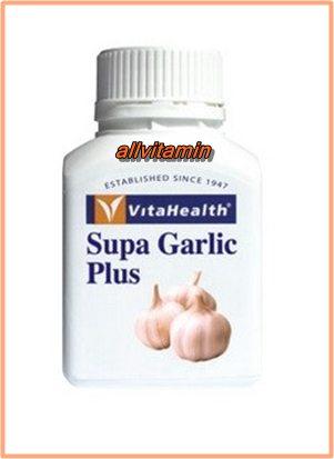 VitaHealth Supa Garlic Plus 60 เม็ด