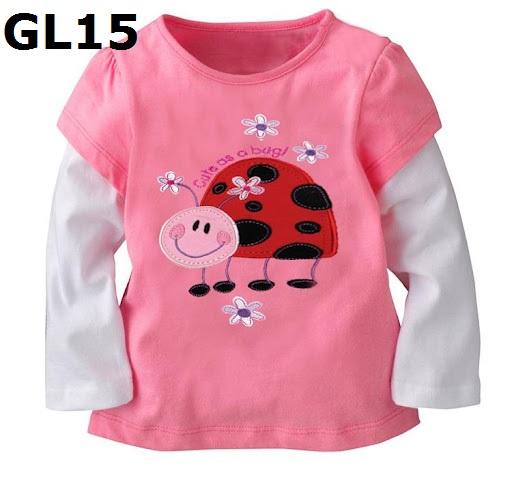 GL15 เสื้อแขนยาว Size 3T ผ้ายืดอย่างดี หนา นิ่ม ยืดหยุ่น เนื้อผ้าดีมาก ใส่สบาย