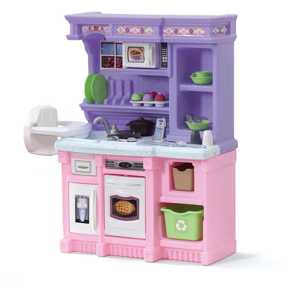 ชุดครัวเด็กชุดใหญ่ Step 2 Little Bakers Kitchen ชมพูม่วง ...