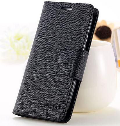 เคส asus zenfone selfie ZD551KL ฝาพับ mercury fancy diary case สีดำ