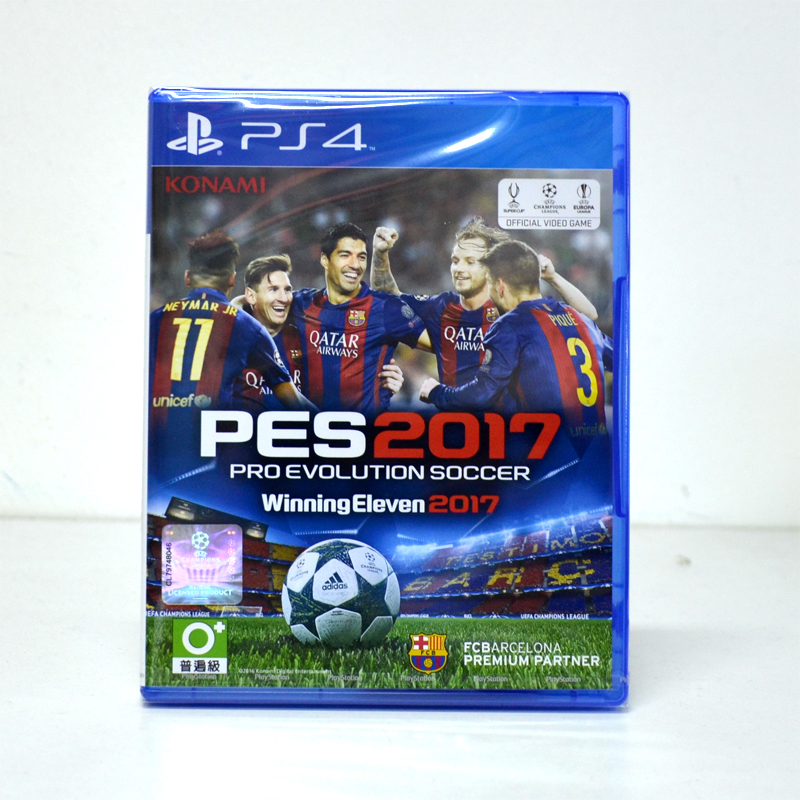 PS4™ Pro Evolution Soccer 2017 Zone 3 Asia / English