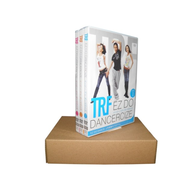 TRF EZ DO DANCERCIZE 3 DVD Box Set