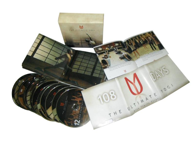 DVD โยคะ The Ultimate Yogi with Travis Eliot 12 DVDs Boxset