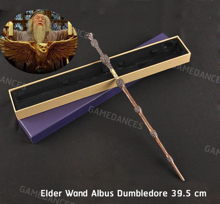 ไม้กายสิทธิ์ เอลเดอร์ (Elder Wand Wand) เเบบแกนโลหะไม่มีไฟ